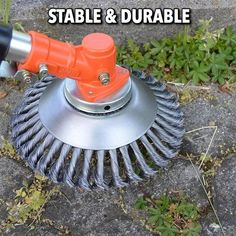 8 Inch Steel Wire Wheel Grass Cutter Trimmer Parts General Wear-Resistant Multi-Function Steel Wire Rust Removal Weeding Plate Mower Head Blade Garden Weeds, Garden Hose, Garden Tools, Garden Grass, Grass Weeds, Grass Cutter, Dust Removal, How To Remove Rust, Removing Rust
