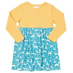 027d4a6dc3 Kite Girls Woodsy Polka Dress - £27.99 - A great range of Kite Girls Woodsy