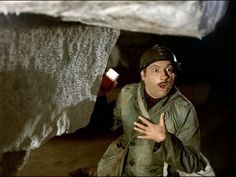 Michel Serrault in Les Gaspards directed by Pierre Tchernia, 1973 French Films, Michel, Military Jacket, Outdoor Blanket, Music, Youtube, Big Mouths, Monsters, Fle