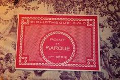 ALBUM ANCIEN POINT DE MARQUE DMC.. III EME SERIE Embroidery Books, Album, Pretty Patterns, Card Book