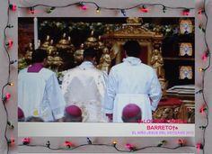 LAS PERSONAS QUE ELIGIERON PARA DESTAPAR AL NIÑO JESUS DEL VATICANO 2012.    †♠LOURDES MARIA†♠
