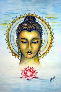 Buddha Blessings Where Ocean meets Sky!