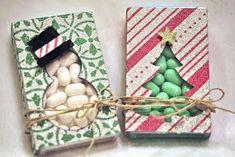 The Original Scrapbook USA: Super Cute Stocking Stuffers! Christmas Craft Fair, Christmas Favors, Christmas Bags, Christmas Projects, Holiday Crafts, Candy Crafts, Paper Crafts, Envelopes, Cute Stockings