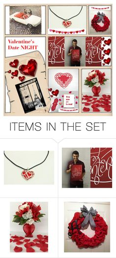 """Valentine's Date NIGHT"" by bscozycottagecrafts ❤ liked on Polyvore featuring art and vintage"
