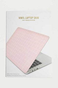 Pink Grid MacBook Pro Retina Laptop Skin