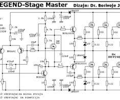 200W MOSFET Amplifier based IRFP250N   Electronic ...