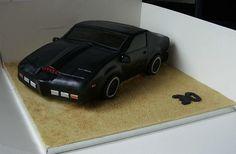 KITT Knight Rider Cake