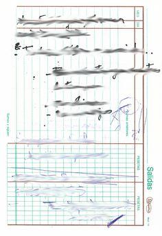 """Apunte: Garramantxo 131   Apunte  """"Garramantxo 131""""  Garabato 131  Bolígrafo sobre papel  153 x 105 cm  2004  Bilbao  apunte: garabato libro 2004-01 / 2004-06"""