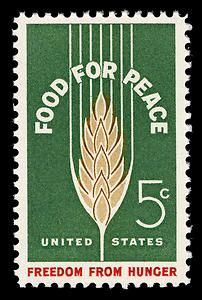 I just found one of these in a box from an estate sale. United States Master Collection, Scott 1231, Food for Peace / Freedom from Hunger