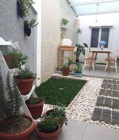 Taman Minimalis Didalam Rumah Nuansa Asri Romantis Keren Abiss