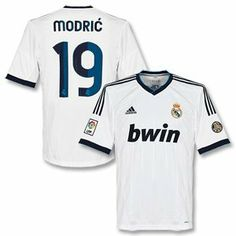 12-13 Real Madrid Home Jersey + Modric 19 by adidas. $109.00