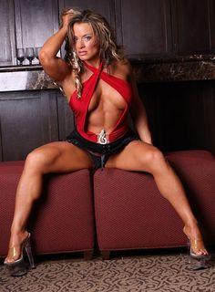 Jennifer Thomas is a fitness model, session wrestler, former professional wrestler and former bodybuilder.