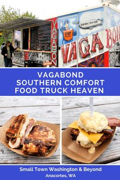The food truck (or in this case trailer) scene is growing in the small town of Anacortes thanks to Vagabond. What are their creations? Think comfort. Think Southern. Think biscuits and waffles and deep fried chicken. Oh, and there's gravy and wiscuits. Has your mouth started watering yet?