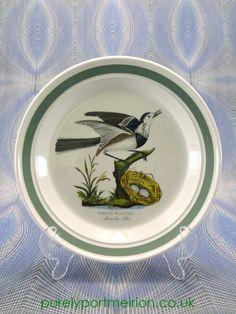 Portmeirion Birds Of Britain Vintage 8.5 Inch Dessert Plate