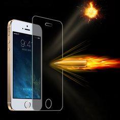 A prueba de explosiones de vidrio templado para iphone 4 4s premium anti shatter film protector de pantalla para iphone 4 4s a prueba de arañazos