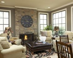 Traditional Family Room Design, Pictures, Remodel, Decor and Ideas - page 5