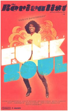 """Design by Sweden10 - """"Jazz in Dancehalls"""" – The Rise of Funk & Soul"""