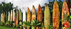 Surfboard fence Maui