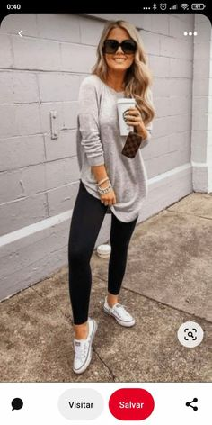 Casual Summer Outfits For Women, Fall Fashion Outfits, Casual Fall Outfits, Look Fashion, Spring Outfits, Autumn Fashion, Cute Outfits, Womens Fashion, Outfit Winter