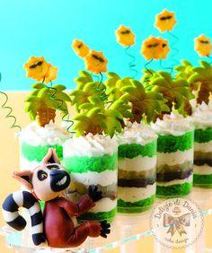 PushUp Pops con palme e lemure