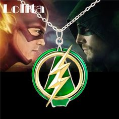 The Flash And Arrow Pendant Necklace