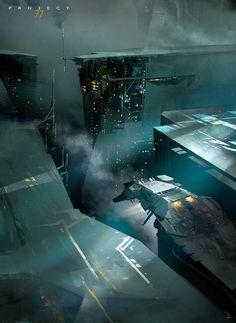 cosmicwolfstorm:  Project 77 by Martin Deschambault