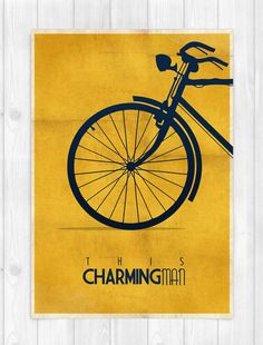 PRINT A3 - The Smiths - This Charming Man - Morrissey - Yellow - Music Concept POSTER. $22.00, via Etsy.