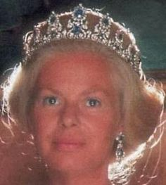 Tiara Mania: Cambridge Sapphire Parure Tiara worn by Duchess Katharine of Kent