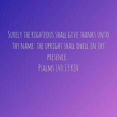 Psalms 140:13