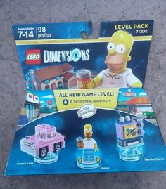 LEGO Dimensions The Simpsons Homer Fun Pack Model 71202    eBay