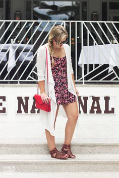 Floral Romper | Living In Color Print