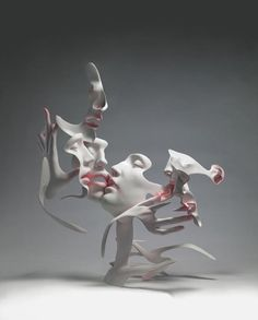 Figurative Sculptures by Unmask  Selected figurative sculptures that seem to dissolve created by artist collective Unmask from Beijing, China. Beautiful surreal artworks made from stainless steel with smooth curves by the artists Liu Zhan, Kuang Jun and Tan Tianwei.