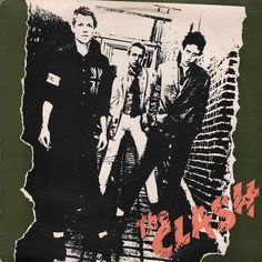 The Clash (U. Version): Remastered U. edition of the Punk band's 1977 debut album, which featured tracks unavailable on the UK full length (while also dropping a few tracks which remained only on the British edition). Iconic Album Covers, Greatest Album Covers, Rock Album Covers, Music Album Covers, Music Albums, The Clash, Rock & Pop, Rock And Roll, Lp Cover