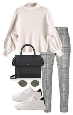 Look Sport Chic - Damen Mode Mode Outfits, Trendy Outfits, Fall Outfits, Fashion Outfits, Sneakers Fashion, Outfit Winter, Dress Fashion, Fashion Clothes, Uni Outfits