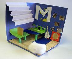 Interior Design Diorama Teaching FrenchLesson PlanningChild