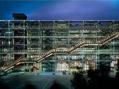 Centre Pompidou / Paris - and the coffee shops close to it :) Renzo Piano, Pompidou Paris, Georges Pompidou, Bilbao, Monuments, Disneyland, Musée National D'art Moderne, Musée Rodin, Musee Carnavalet