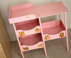 vintage baby doll changing table
