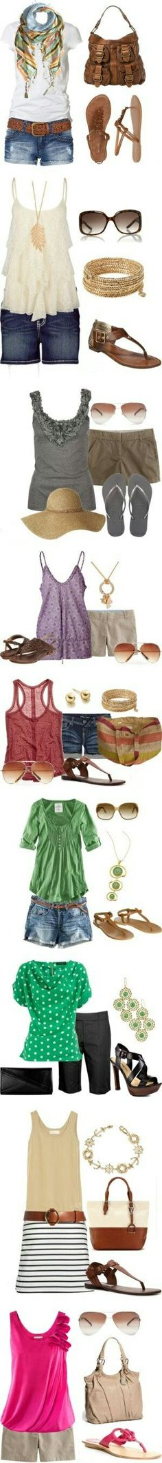 Throw that print scarf on there to make the whole outfit zing! :) LOLO Moda: #2014 #summer #spring outfits on, www.lolomoda.com