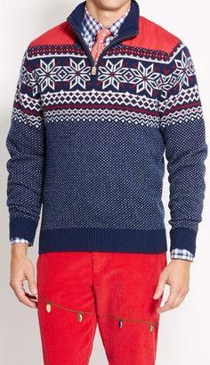 Whale Intarsia Cotton Slub Sweater   red, whale & blue   Pinterest ...