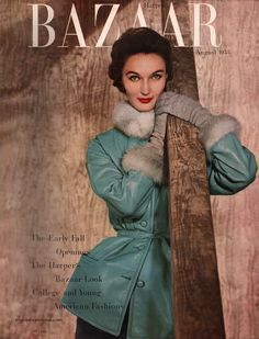 Harper's Bazaar August 1953 / Evelyn Tripp