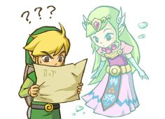 The Legend of Zelda: Spirit Tracks, Toon Link and Toon Princess Zelda / 「ゼルダの伝説ログ」/「xi」の漫画 [pixiv] [08]