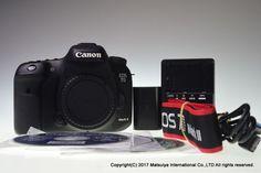 Canon EOS 7D Mark II Body 20.2 MP Digital Camera Shutter Count 16922 Excellent+ #Canon