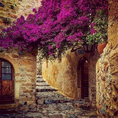 The most beautiful hidden city in the world is Greek. Located wedged on the slopes of a huge rock Beautiful World, Beautiful Places, Beautiful Pictures, Beautiful Flowers, Keep Calm And Enjoy, Monemvasia Greece, Paradise On Earth, Ancient Ruins, Greece Travel