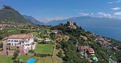 Garda lake villa with 4 bedrooms and pool Lake Como Accommodation, Italian Lakes, Stunning View, Beautiful, Lake Garda, Luxury Villa, Dolores Park, Scenery, The Incredibles