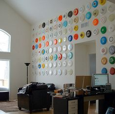 Frisbee Wall Art by Philo Copenhagen, coolandcollected #Frisbee #Wall_Art