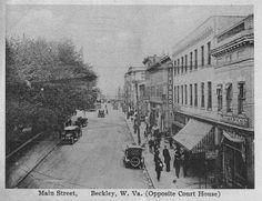 Main Street of Beckley, WV (1923)