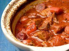 Espanjalainen liha-makkarapata - Reseptit - Yhteishyvä
