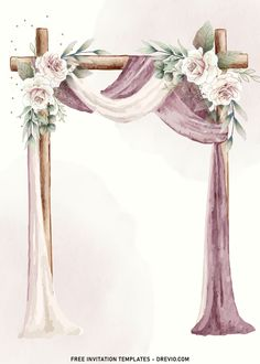 Download Now 11+ Blush Watercolor Floral Arch Wedding Invitation Templates I'd say, it's almost impossible to beat Garden Rose for its outstanding visual that fits almost everything. These delicate, papery flowers bloom, gorgeous leaves and striking color will bl...