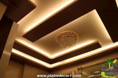 6 Marvelous Cool Tips: False Ceiling Hall Spaces false ceiling living room luxury.False Ceiling Ideas With Wood. Home Room Design, Ceiling Decor, False Ceiling Design, Suspended Ceiling, Ceiling Design Modern, Ceiling Light Design, Living Room Design Modern, Roof Design, Living Room Designs