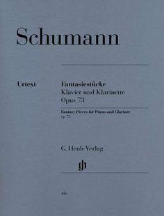 Robert Schumann - Fantasiestücke Opus 73 - (Partition)
